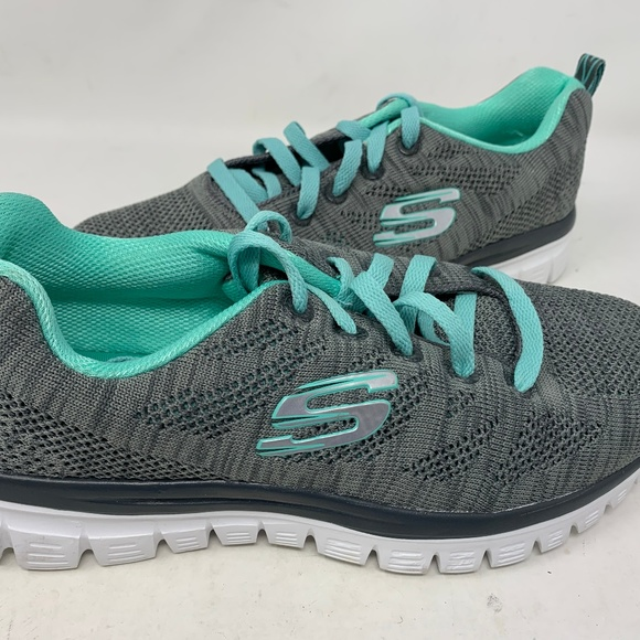 Skechers Women Lace Up #59854 Size:7.5 (a26box3)
